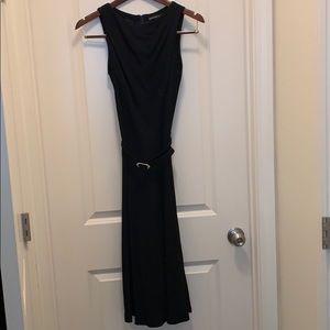Ralph Lauren black label belted cocktail dress